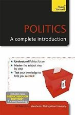 Politics: A Complete Introduction: Teach Yoursel, Joyce, Peter, New