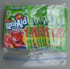 20 packets of KOOL-AID drink mix: STRAWBERRY KIWI flavor, powdered, UNSWEETENED