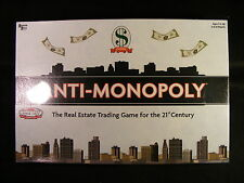 Anti-Monopoly from University Games (2005) BRAND NEW!