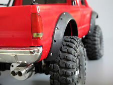 New Black Rubber Fender Flares Guard Toy Tamiya R/C 1/10 Ford F-350 High-Lift
