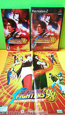 Sony Ps2 The King of Fighters 98 Ultimate Match (Tested & no scratch)with poster