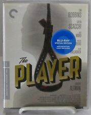 The Player (Blu-Ray Disc Criterion May-2016) Robt. Altman film stars Tim Robbins