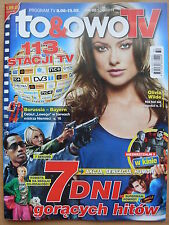 TO & OWO TV 32/2014 front OLIVIA WILDE in. Antonio Banderas, Sylvester Stallone