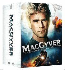 MacGyver Complete Series Season 1-7 + 2 Movies Week DVD SET Collection Show TV R