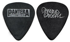 PANTERA Guitar Pick : 1990 Cowboys From Hell Tour - Dimebag Darrell chalky black
