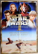 Star Wars EPISODE I EP1 original Mediatheken Plakat A1