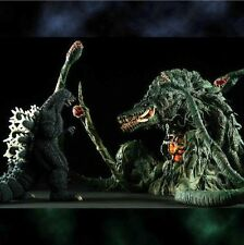 X-PLUS TOHO Godzilla 1989 & Biollante Gimmickver.Large Monster Series Figure NEW
