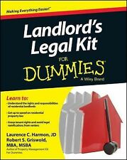 Landlord's Legal Kit for Dummies by Consumer Dummies Staff and Laurence...