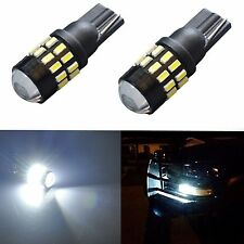 JDM ASTAR 30-SMD T10 Super White Projector LED Lights Bulbs 194 168 175 W5W 2825