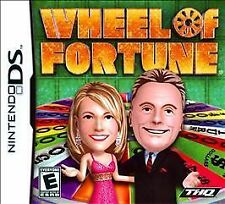 NEW Wheel of Fortune (Nintendo DS, 2010) famous TV game show Video Game DSI XL