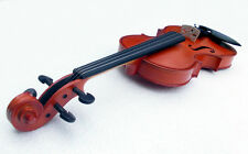Maple Wood  4/4 Violin all Natural Ebony Parts