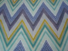 Scion/Harlequin Fabric 'Groove' 7 METRES Moss/Marine/Cement Col  100% Cotton
