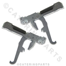WHIRLPOOL PAIR OF DOOR/LID HINGES K20 K40 AGB022 AGB024 ICE CUBE MACHINE PHILIPS