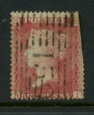 SCOTLAND QV PENNY RED GLASGOW ROLLER CANCEL