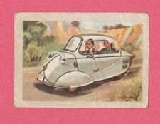 Fend 1954 Car Jacques Chocolate Card from Belgium #87