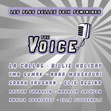 CD The Voice - The most beautiful female voices / IMPORT