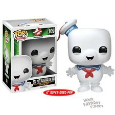 Ghostbusters Stay Puft Marshmallow Man 109 Super Sized Funko Pop! Vinyl Figure