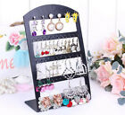 48 Holes New Earring Jewelry Show Black Plastic Organisers Display Stand Holder