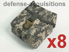LOT OF 8 NEW Military Issue ACU IFAK MOLLE First Aid Pouch / Large Utility Pouch