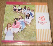 TWICE 3rd Mini Album TT Apricot Ver. K-POP CD + PHOTOCARD SET + 2 FOLDED POSTER