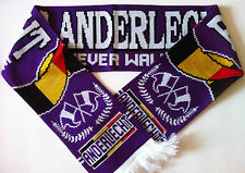 ANDERLECHT Football Scarves NEW from Superior Acrylic Yarns