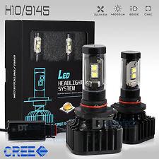 80W 8000LM H10/9145 9140 CREE LED Fog Light Conversion Kit Bulbs 6000K White