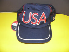 USA 2004 ATHENS SUMMER OLYMPICS ROOTS BREATHABLE HAT NWT