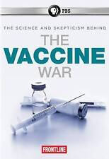 FRONTLINE: THE VACCINE WAR-FRONTLINE: THE VACCINE WAR DVD NEW