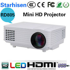 2016 Edition RD805 mini full hd LED Projector Home Cinema Theater VGA 1080 UC40+