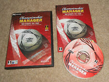 CHAMPIONSHIP MANAGER 01 / 02 2001 2002 CHAMP FOOTBALL SOCCER CM PC CD ROM MANGER