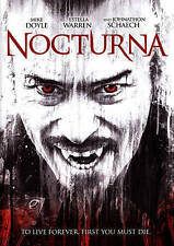 Nocturna -widescreen DVD 2015 with slip cover