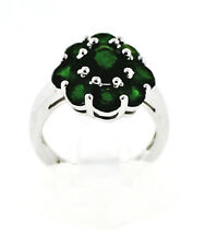 Item #795 Chrome Diopside 4.3 ct. Ring Size 7 Sterling Silver