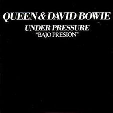 CD Single QUEEN & David BOWIE Under pressure + Spain + 2-track CARD SLEEVE