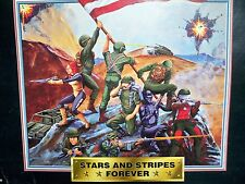 D0509166 STARS AND STRIPES FOREVER GI JOE 1997 W/ CUSTOM FLASH FIGURE MOSC MISB