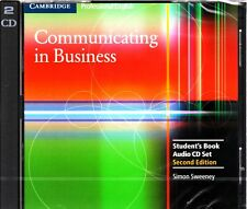 Cambridge Professional English COMMUNICATING IN BUSINESS  2nd Edit AUDIO CDs New