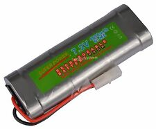 1 pcs 7.2V 4600mAh Ni-Mh rechargeable battery pack RC w/ Tamiya Plug USA