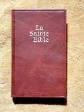 French Darby Bible, La Sainte Bible, Brown Hardcover