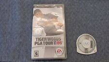 Tiger Woods PGA Tour 07  (Sony PSP PlayStation Portable, 2006) Complete