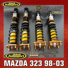 YELLOW-SPEED COILOVERS SUSPENSION DPS MAZDA 323 98-03 yellowspeed Astina