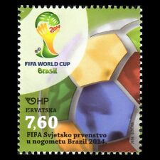 Croatia 2014 - FIFA Football World Cup Brazil Sports Soccer - MNH