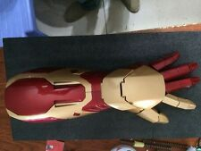 1:1 IRON MAN MK42 ARM WITH LASER DEVICE+PALM LIGHT SPECIAL LIGHT+SOUND EFFECT