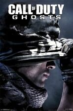 2013 ACTIVISION CALL OF DUTY GHOSTS KEY ART  POSTER 22X34 NEW FREE SHIPPING