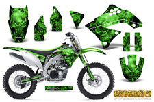 KAWASAKI KXF450 KX450F 09-11 GRAPHICS KIT CREATORX DECALS INFERNO G