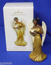 Hallmark Ornament Golden Messenger 2012 African American Angel with Baby NIB