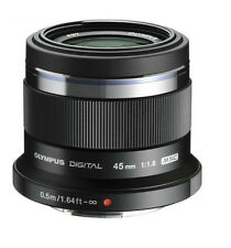 NEW Olympus M.Zuiko 45mm f/1.8 ED Lens (Black) for Micro Four Thirds