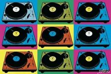 Poster Musica Console Steez Pop Art Originale Importazione UK