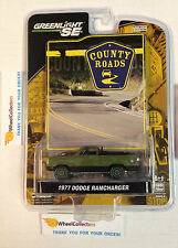 Greenlight County Roads * 1977 Dodge Ramcharger GREEN * Series 4 * E16