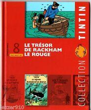COLLECTION TOUT SAVOIR SUR TINTIN n°8 - TRESOR RACKHAM LE ROUGE - sans le DVD