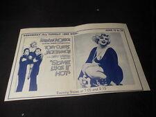 Vintage Buzzards Bay MA Marilyn Monroe Some Like it Hot Movie Theater Handbill