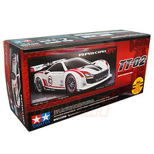 Tamiya 1:10 TT02 4WD RC Cars Touring On Road Raikiri GT EP w/ESC Motor #58626